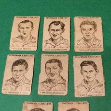 Cromos de Fútbol: CROMOS CAJAS DE CERILLAS REAL ZARAGOZA TEMPORADA 1936 /37. Lote 103037211