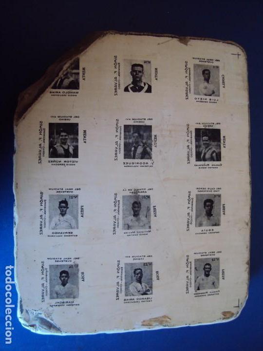 F 171123plancha Piedra Para La Impresion De Cromosreal Stadium Ovetensesimon Falvarez Años 20