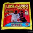 Cromos de Fútbol: SOBRE CON SUS CROMOS, ALBUM LIGA 1999 2000, LICENCIA LFP, PANINI SPORTS. SIN ABRIR.. Lote 103247187