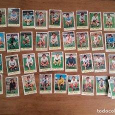 Cromos de Fútbol: ESTE 78/79 LOTE DE 65 CROMOS DIFERENTES NUNCA PEGADOS 1978/1979. Lote 103278915