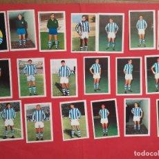 Cromos de Fútbol: FHER 68/69 REAL SOCIEDAD LOTE DE 19 CROMOS DIFERENTES RECUPERADOS 1968/1969. Lote 103280503