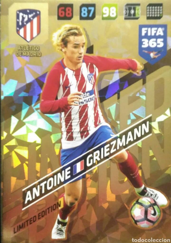 Panini Adrenalyn XL Fifa 365 2020 Antoine Griezmann Edición Limitada