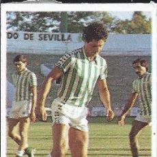 Cromos de Fútbol: 9476 -CROMO DESPEGADO LIGA 83-84 CROMOS CANO -SUAREZ (BETIS)- ULTIMO FICHAJE Nº 28. Lote 103506003