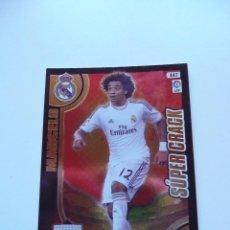 Cromos de Fútbol: 447 MARCELO REAL MADRID SUPER CRACK PANINI LIGA ADRENALYN XL 2013 2014 13 14 EQUIPO FICHA . Lote 117665099