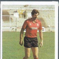 Cromos de Fútbol: 9487 -CROMO DESPEGADO LIGA 83-84 CROMOS CANO -ARMSTRONG (MALLORCA)- ULTIMO FICHAJE Nº 14. Lote 103591819
