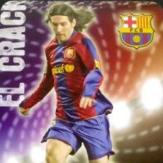 Cromos de Fútbol: 80 MESSI - EL CRACK - MATE PUNTAS REDONDAS - F.C. BARCELONA - MUNDICROMO FICHAS LIGA 2008 2009 08 09. Lote 103722307