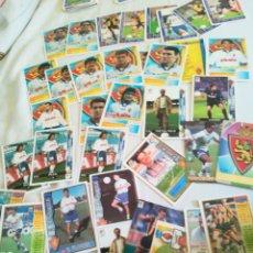 Cromos de Fútbol: LOTE CROMOS REAL ZARAGOZA. Lote 103745383