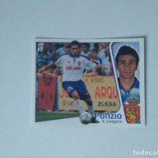 Cromos de Fútbol: EDICIONES ESTE - LIGA 2004 2005 - R. ZARAGOZA - PONZIO. Lote 175782642