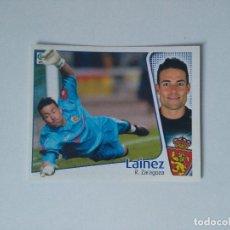 Cromos de Fútbol: EDICIONES ESTE - LIGA 2004 2005 - R. ZARAGOZA - LAINEZ. Lote 175782633