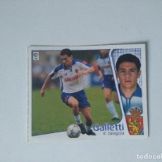 Cromos de Fútbol: EDICIONES ESTE - LIGA 2004 2005 - R. ZARAGOZA - GALLETTI. Lote 103757595