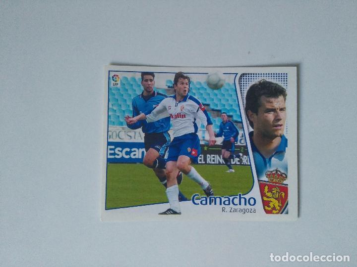 EDICIONES ESTE - LIGA 2004 2005 - R. ZARAGOZA - CAMACHO (Coleccionismo Deportivo - Álbumes y Cromos de Deportes - Cromos de Fútbol)