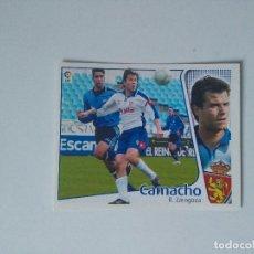 Cromos de Fútbol: EDICIONES ESTE - LIGA 2004 2005 - R. ZARAGOZA - CAMACHO. Lote 103757651