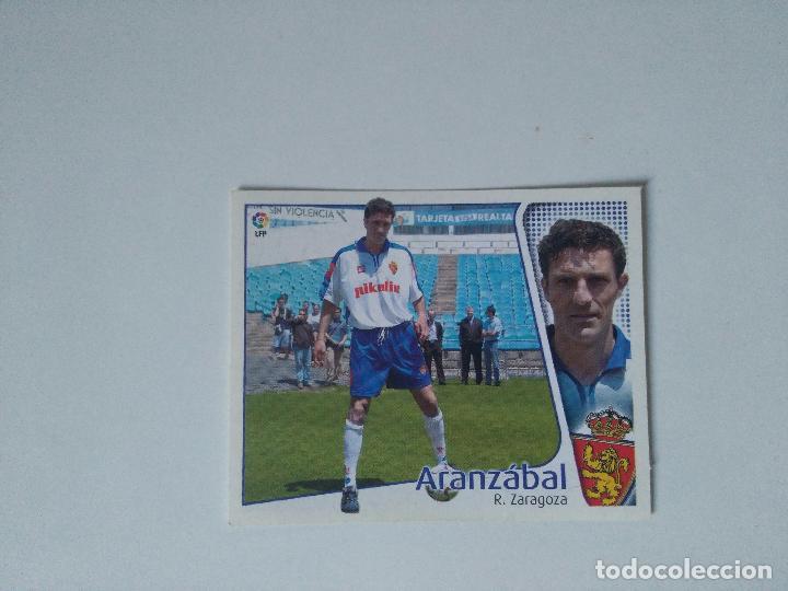EDICIONES ESTE - LIGA 2004 2005 - R. ZARAGOZA - ARANZÁBAL (Coleccionismo Deportivo - Álbumes y Cromos de Deportes - Cromos de Fútbol)