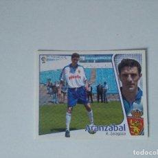 Cromos de Fútbol: EDICIONES ESTE - LIGA 2004 2005 - R. ZARAGOZA - ARANZÁBAL. Lote 151483937