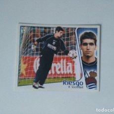 Cromos de Fútbol: EDICIONES ESTE - LIGA 2004 2005 - R. SOCIEDAD - RIESGO. Lote 103757755
