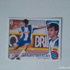 Cromos de Fútbol: EDICIONES ESTE - LIGA 2004 2005 - R.C.D. ESPANYOL - MARC BERTRÁN. Lote 178245563