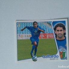 Cromos de Fútbol: EDICIONES ESTE - LIGA 2004 2005 - GETAFE C.F. - GALLARDO. Lote 103762871