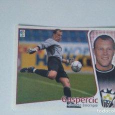 Cromos de Fútbol: EDICIONES ESTE - LIGA 2004 2005 - ALBACETE BALOMPIÉ - GASPERCIC. Lote 178245565
