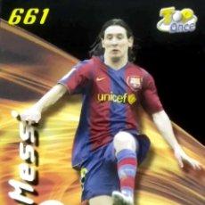 Cromos de Fútbol: 661 MESSI - TOP MATE PUNTAS CUADRADAS - F.C. BARCELONA - MUNDICROMO MC FICHAS LIGA 2007 2008 07 08. Lote 103767147