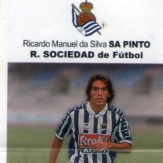 Cromos de Fútbol: SA PINTO (REAL SOCIEDAD) - LIGA FÚTBOL 98-99 - BOLLYCAO - NUNCA PEGADO.. Lote 103831815