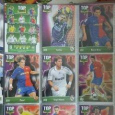 Cromos de Fútbol: TOP 11. FICHAS DE LA LIGA 2009. . Lote 103891755