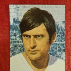 Cromos de Fútbol: CROMO - FUTBOL - MOYA - R. ZARAGOZA - FHER 1968-1969 - 68-69 - DISGRA - NUNCA PEGADO. Lote 103892419