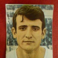 Cromos de Fútbol: CROMO - FUTBOL - BUSTILLO - R. ZARAGOZA - FHER 1968-1969 - 68-69 - DISGRA - NUNCA PEGADO. Lote 103892451