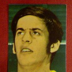 Cromos de Fútbol: CROMO - FUTBOL - LEON - U.D LAS PALMAS. - FHER 1968-1969 - 68-69 - DISGRA - NUNCA PEGADO. Lote 103892647