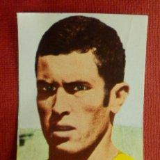 Cromos de Fútbol: CROMO - FUTBOL - VICENTE - U.D LAS PALMAS. - FHER 1968-1969 - 68-69 - DISGRA - NUNCA PEGADO. Lote 103892683
