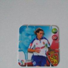 Cromos de Fútbol: SHOTS LA LIGA GREFUSA 2005 2006 - R. ZARAGOZA - SAVIO. Lote 103928575