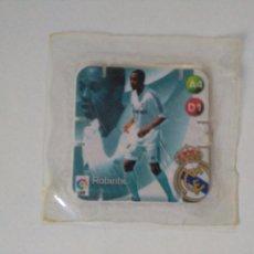 Cromos de Fútbol: SHOTS LA LIGA GREFUSA 2005 2006 - REAL MADRID - ROBINHO - SIN ABRIR. Lote 103928899