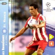 Cromos de Fútbol: 135 MAXI RODRIGUEZ ATLETICO MADRID - UEFA CHAMPIONS LEAGUE 2008 2009 08 09 PANINI TRADING CARD GAME. Lote 103968519