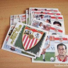 Cromos de Fútbol: SEVILLA --LOTE 16 CROMOS ED. ESTE 99-00 SEVILLA TODOS DIFERENTES SIN PEGAR. Lote 103983083