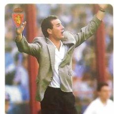 Cromos de Fútbol: 110 V. VÍCTOR FERNÁNDEZ - REAL ZARAGOZA - MUNDICROMO MC - FICHAS LIGA 1995 1996 95 96. Lote 104124452