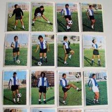 Cromos de Fútbol: CAMPEONATO DE LIGA 1975/76 FHER-DISGRA 75/76 HERCULES COMPLETO (RECUPERADOS). Lote 104227987
