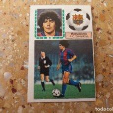 Cromos de Fútbol: CROMO ESTE 83.84. MARADONA (F.C. BARCELONA) NUNCA PEGADO.. Lote 104298019
