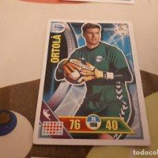 Cromos de Fútbol: ORTOLA 16 17 ALAVÉS ADRENALYN . Lote 104302775