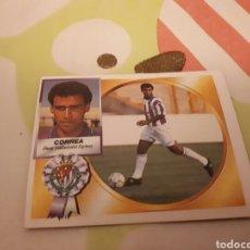 Cromos de Fútbol: CORREA 94 95 VALLADOLID SIN PEGAR EDICIONES ESTE. Lote 104380159