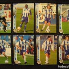 Cromos de Fútbol: LOTE 8 CROMOS - MEGA CRACKS 2005/06 - PANINI - DEPORTIVO ALAVES.. Lote 104387151