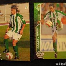 Cromos de Fútbol: LOTE 2 CROMOS - MEGA CRACKS 2005/06 - PANINI - R. BETIS.. Lote 104393559