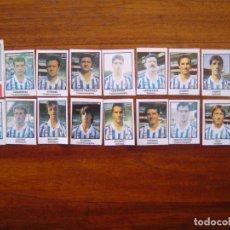 Cromos de Fútbol: REAL SOCIEDAD - 18 CROMOS - EQUIPO COMPLETO - PATERNINA LIGA 1991/92 91/92. Lote 104422475