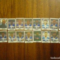 Cromos de Fútbol: REAL CLUB DEPORTIVO LA CORUÑA - 18 CROMOS - EQUIPO COMPLETO - PATERNINA LIGA 1991/92 91/92 . Lote 104465731