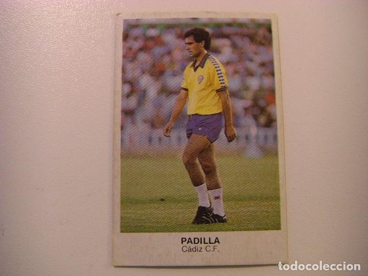 FICHAJE Nº10 PADILLA CADIZ CROPAN CROMOS CANO FUTBOL 83 84 DIFICIL CROMO SIN PEGAR NO ESTE (Coleccionismo Deportivo - Álbumes y Cromos de Deportes - Cromos de Fútbol)