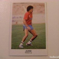 Cromos de Fútbol: FICHAJE Nº29 JUANI MALLORCA CROPAN CROMOS CANO FUTBOL 83 84 DIFICIL CROMO SIN PEGAR NO ESTE. Lote 104505367