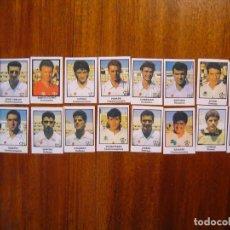 Cromos de Fútbol: ALBACETE BALOMPIE - 18 CROMOS - EQUIPO COMPLETO - PATERNINA LIGA 1991/92 91/92 . Lote 104528879