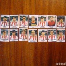 Cromos de Fútbol: C.D. LOGROÑES - 18 CROMOS - EQUIPO COMPLETO - PATERNINA LIGA 1991/92 91/92 . Lote 104529047