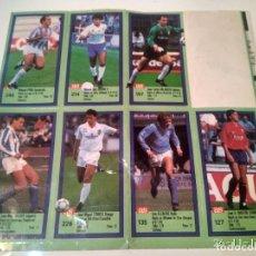 Cromos de Fútbol: CROMOS DE FUTBOL ASES DE LA LIGA 89-90. . Lote 104540419