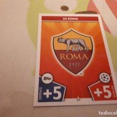 Cromos de Fútbol: ESCUDO DE ROSSI 17 18 ROMA MATCH ATTAX CHAMPIONS . Lote 104822439