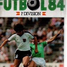 Cromos de Fútbol: LOTE DE 250 CROMOS FUTBOL 84 CROMOS CANO NUNCA PEGADOS. Lote 104876631