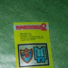 Cromos de Fútbol: BIMBOVISION 2 - CROMO NUMERO 14 SERIE FUTBOL. Lote 104880287